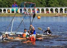 Canoe polo Stock Photo
