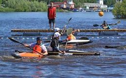 Canoe polo Stock Image