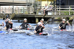Canoe Polo Championships Royalty Free Stock Photo