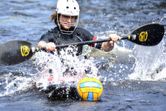 Canoe Polo Championships Royalty Free Stock Photos