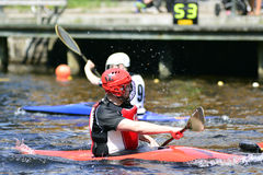 Canoe Polo Championships Royalty Free Stock Photography