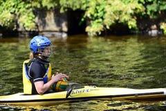 Canoe Polo Championships Stock Photography