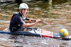 Canoe Polo Championships Stock Photos