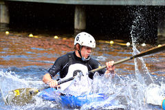 Canoe Polo Championships Royalty Free Stock Images