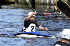 Canoe Polo Championships Stock Photography