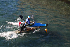 Canoe polo Royalty Free Stock Photos