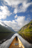Canoe ride Royalty Free Stock Image