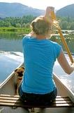 Canoe Ride Royalty Free Stock Photo