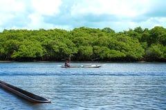 Canoe Ride Stock Photos