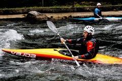 Canoe Skopje stock photos