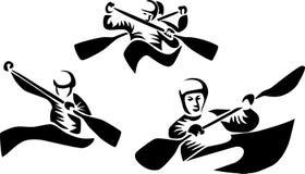 Canoe slalom Stock Photos