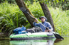 Canoe sport Royalty Free Stock Images