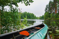 Canoe Royalty Free Stock Photos