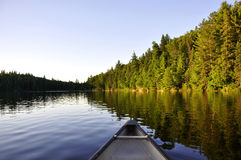 Canoe trip. Royalty Free Stock Images