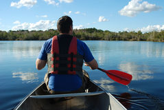 Canoe Trip Stock Photography