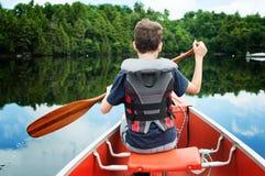 Free Canoe Trip Royalty Free Stock Photo - 56071585