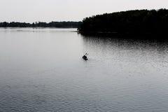 Canoe Trip Royalty Free Stock Photos