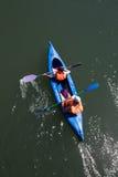 Canoe trip Royalty Free Stock Image