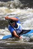 Canoe water slalom - world cup in Prague Stock Photography