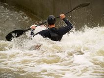 canoe water wild Στοκ φωτογραφίες με δικαίωμα ελεύθερης χρήσης