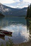 Canoeing в Канаде Стоковая Фотография RF