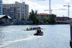 Canoeing в Флориде Стоковые Фотографии RF