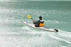 canoeing озеро louis пышный Стоковое Фото