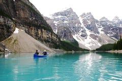 Canoeing imagens de stock