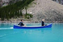 Canoeing Fotografia Stock