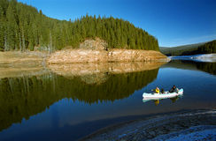 Canoeing Royalty Free Stock Images