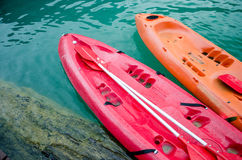 Canoeing Stockbilder