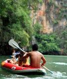 Canoeing Стоковое Изображение
