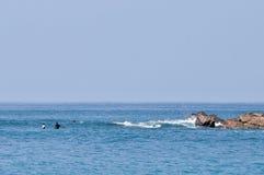 Canoeing Foto de Stock Royalty Free