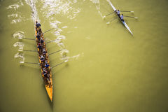 Canoeing Imagem de Stock
