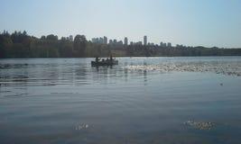Canoeing stock fotografie