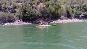 Canoeing Stockbild