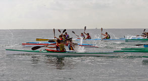 006 Canoeing Imagen de archivo