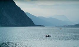 Canoeing Стоковые Фотографии RF