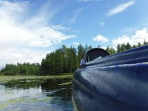 Canoeing Foto de Stock