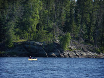 Canoeing in the BWCA Royalty Free Stock Photography