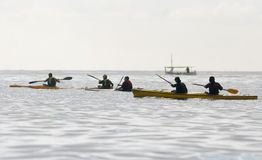 Canoeing 012 Stock Photo