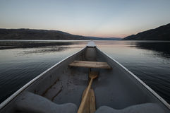 Canoeing Royalty Free Stock Photo