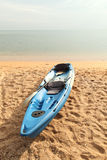 Canoeing park on the beach Royalty Free Stock Photo