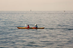 Canoeing Royalty Free Stock Photos