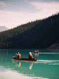 Canoeing into the Wild Royalty Free Stock Image
