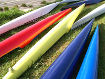 Canoes Stock Photo