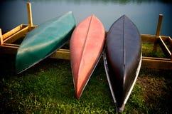 Canoes Stock Photos