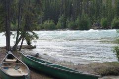 canoes Stock Afbeeldingen
