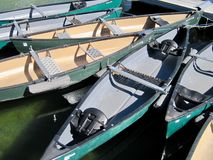 canoes Fotos de Stock Royalty Free