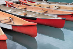 Canoes royalty free stock images